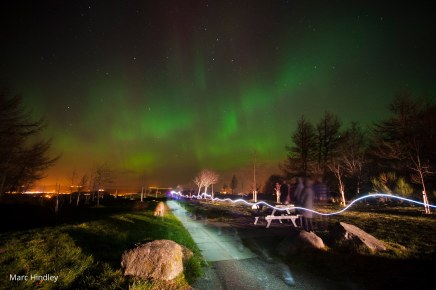 Northern Lights 27th February, Moray